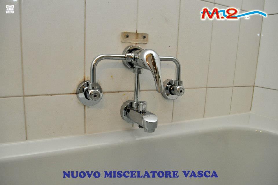 Sovrapposizione vasca con sostituzione miscelatore m 2 trasformazione vasca in doccia e - Cambiare vasca da bagno ...