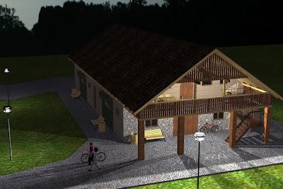 Architekt Rzeszów: Stajnia, kawalerka, pokoje gościnne.