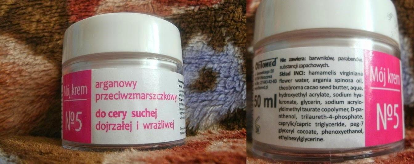 Krem arganowy nr 5 z Fitomedu - uwielbiam fitomedowe kremiki :)