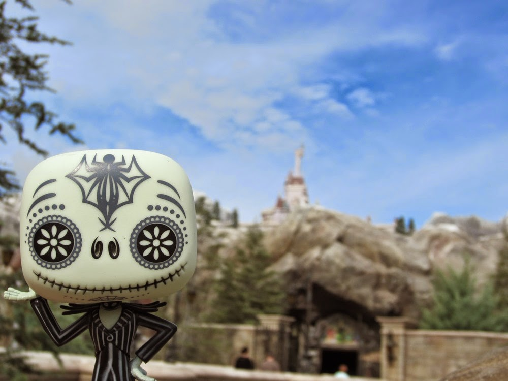 Jack Skellington's Walt Disney World Trip Selfies Beasts Castle New Fantasyland