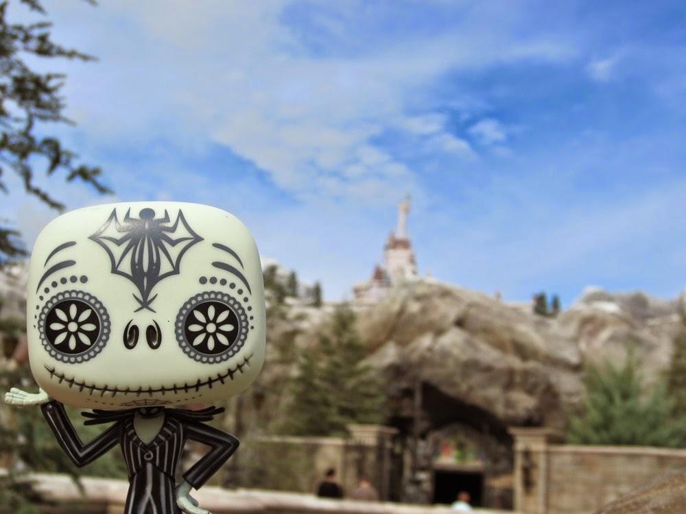 Jack Skellington's Walt Disney World Trip Selfies Beasts Castle New Fantasyland