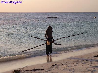 pescatore Zanzibar Africa
