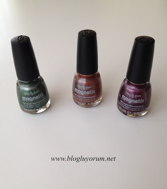 CHINA GLAZE MAGNETIX 1162 CON-FUSED YEŞİL OJE 2
