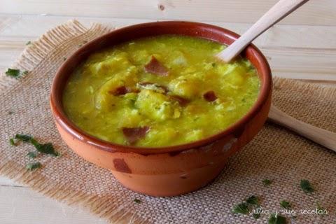 Sopa de Jamón y Pan
