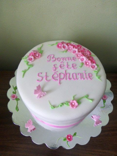 Cakesophia Bonne Fete Stephanie