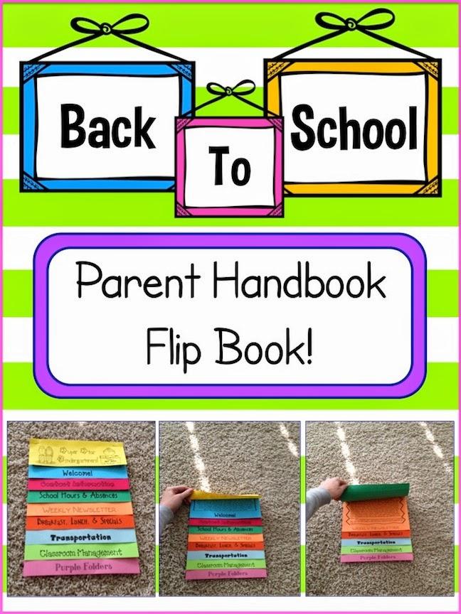 free editable parent handbook