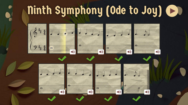 Google Doodles Beethoven's 245 Year Ninth Symphony (Ode to Joy)