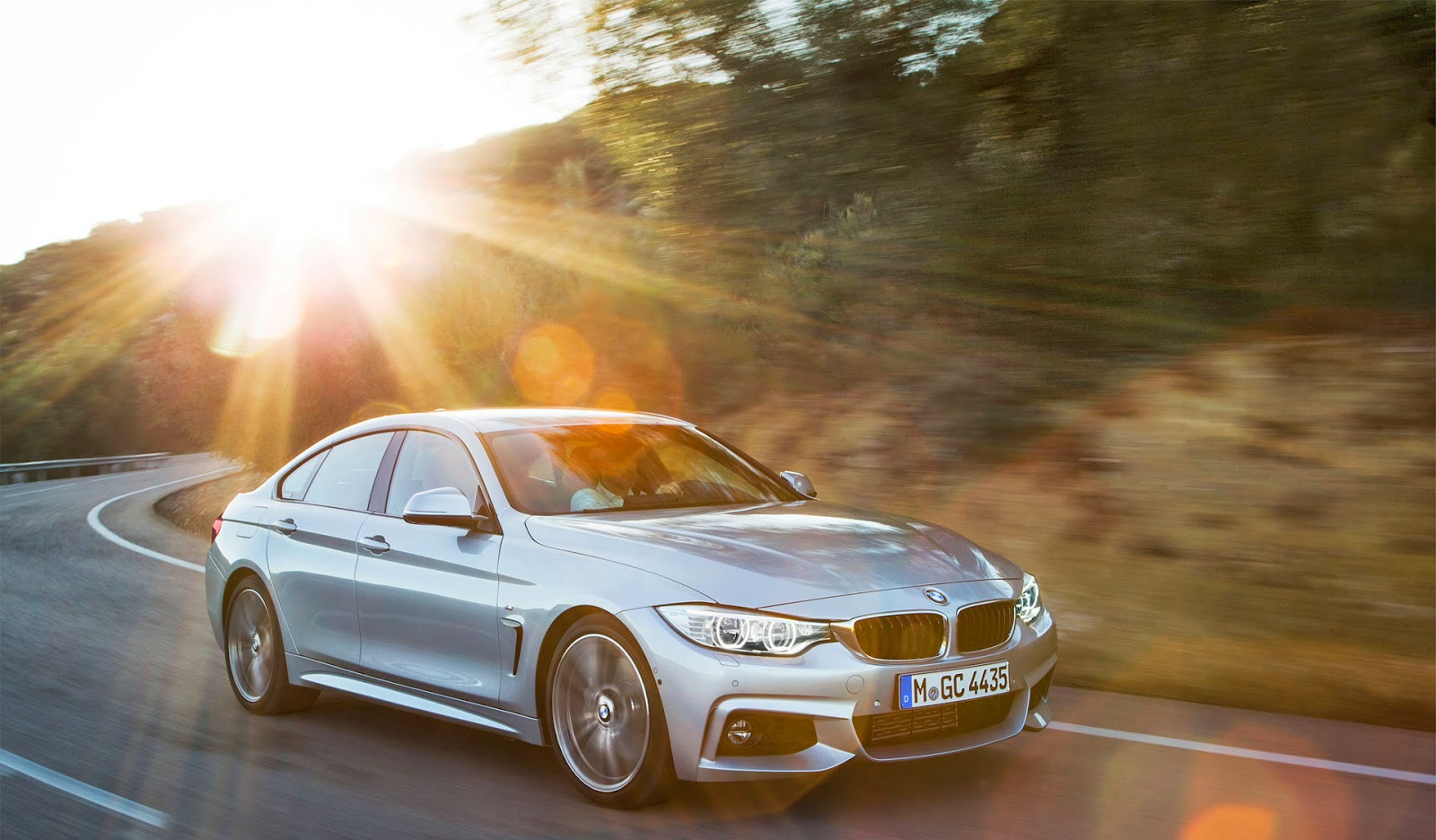 Bmw 4 Series Gran Coupe M Sport Package High Wheels