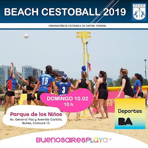 Beach Cestoball