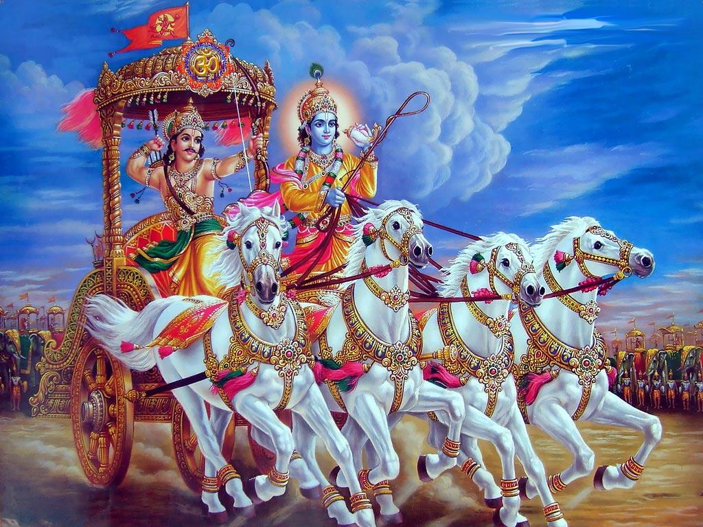 Hd wallpaper valmiki - Geeta Saar Hindu God Wallpapers Free Download