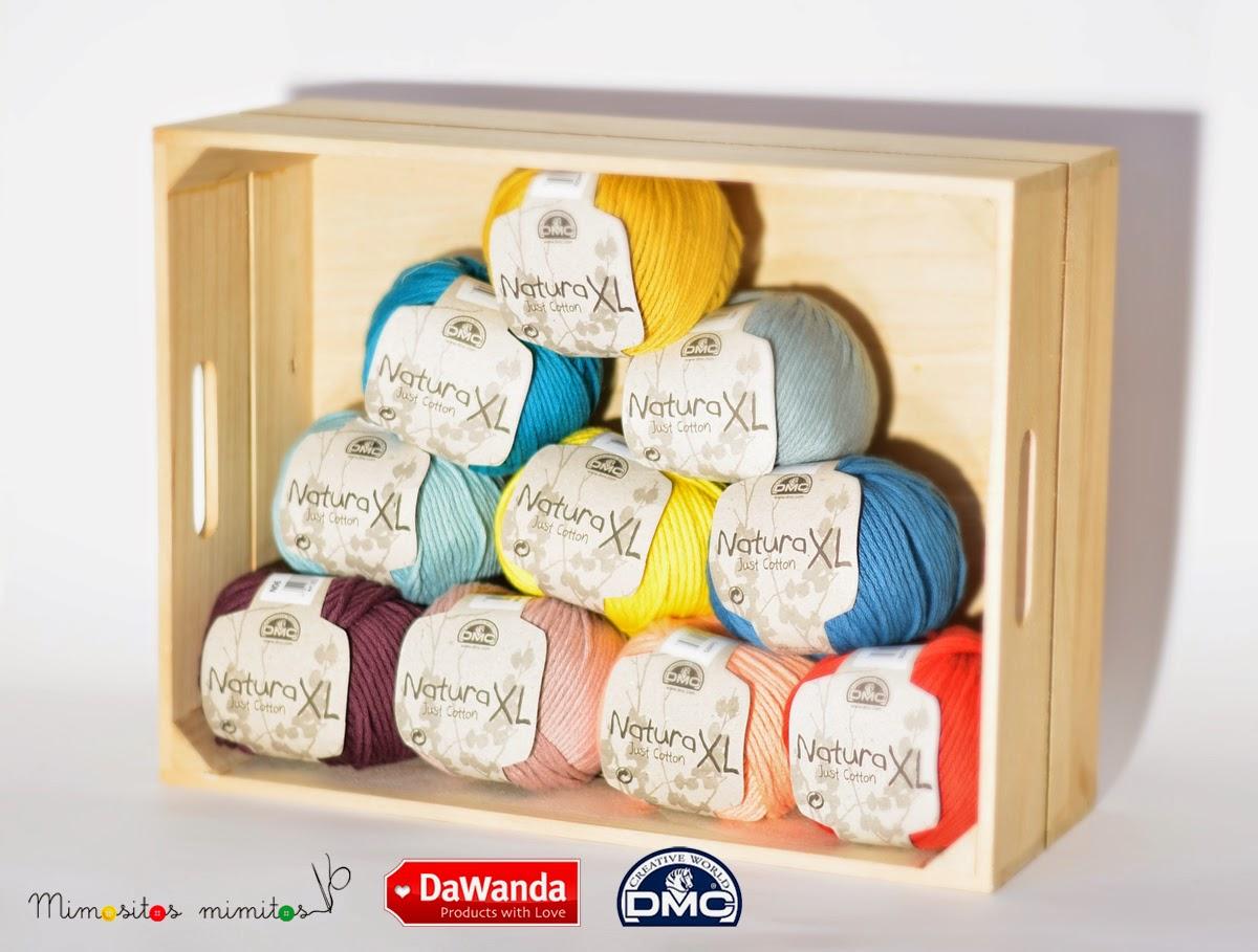lanas natura XL DMC colaboración Dawanda amigurumi crochet ganchillo