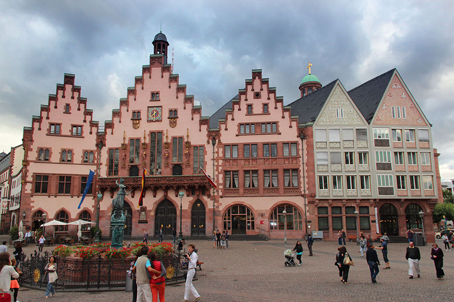 Frankfurt Romer Germany