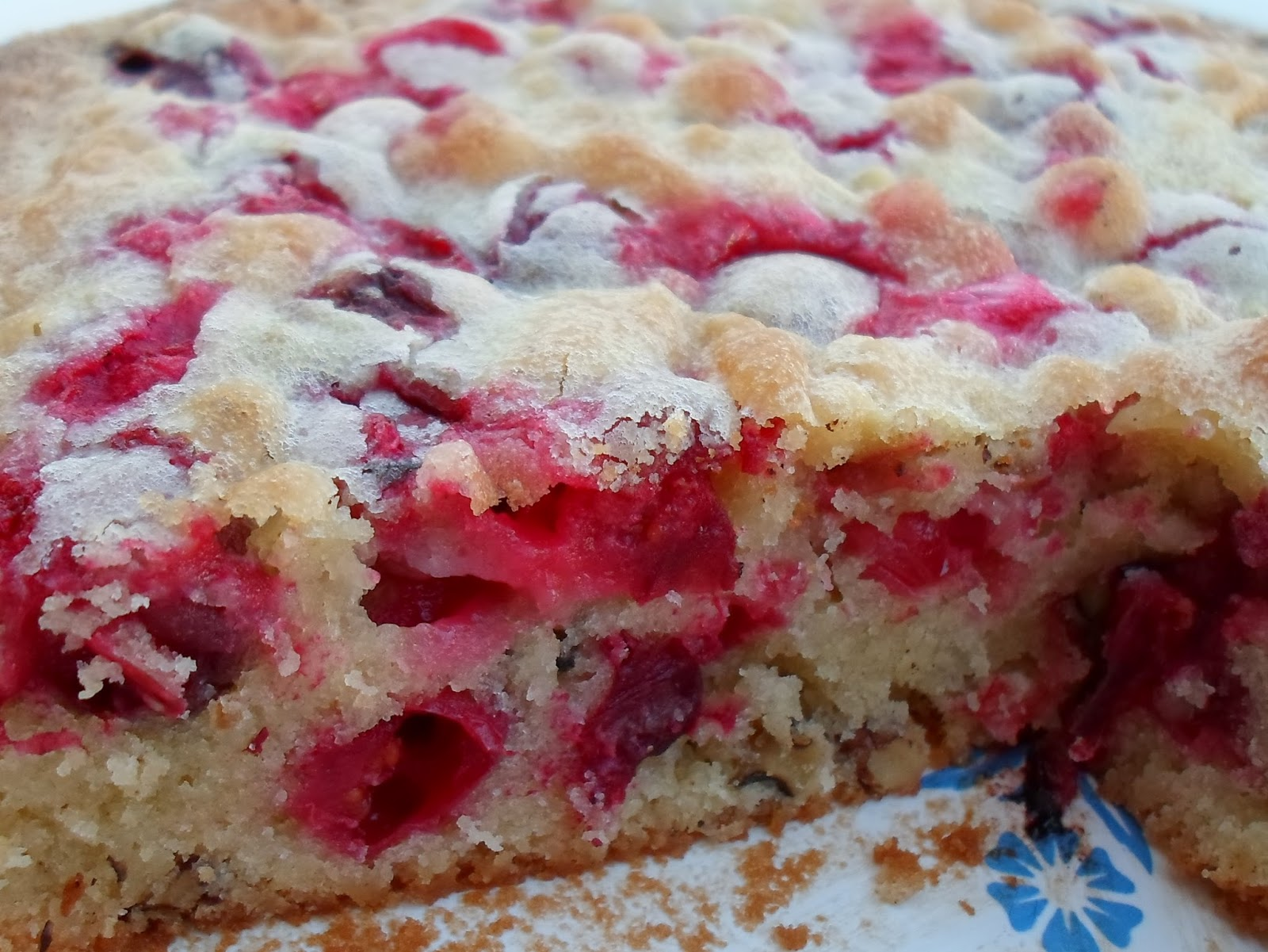 Happier Than A Pig In Mud: Crustless Cranberry Pie