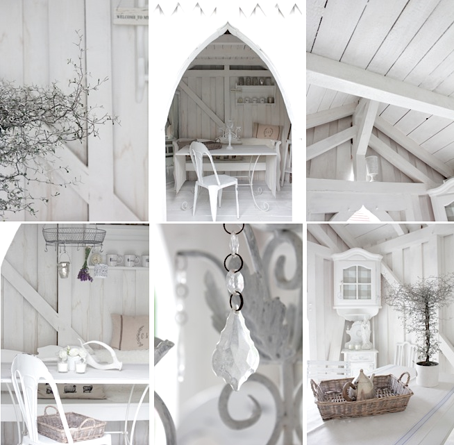 white and shabby: my little garden shed, Moderne