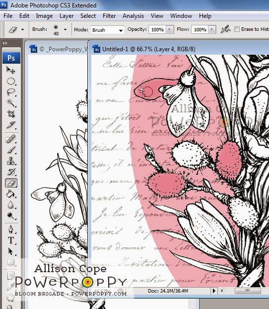 Altered Box Tutorial with Power Poppy Digital Stamps by Allison Cope