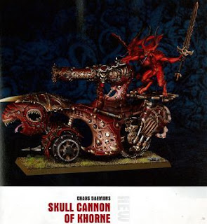 Chaos Daemons Skull Cannon of Khorne