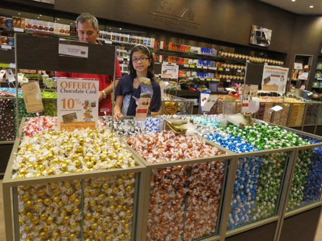 No Doors: Lindt Store at the Valdichiana Outlet Mall