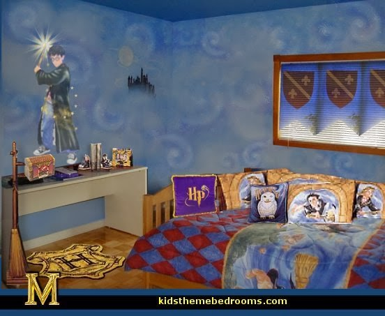 Decorating theme bedrooms maries manor harry potter for Bedroom ideas harry potter