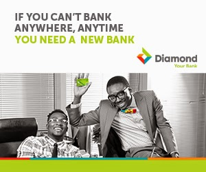 Diamond Bank, Your New Bak