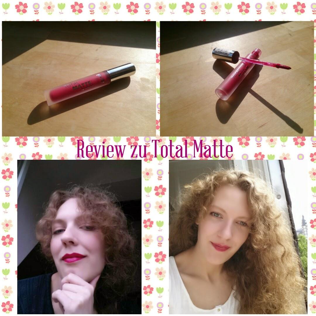Farbe Nach Streichen Fleckig: BaSu: Review Zum Total Matte Lip Cream In Der Farbe 060 L