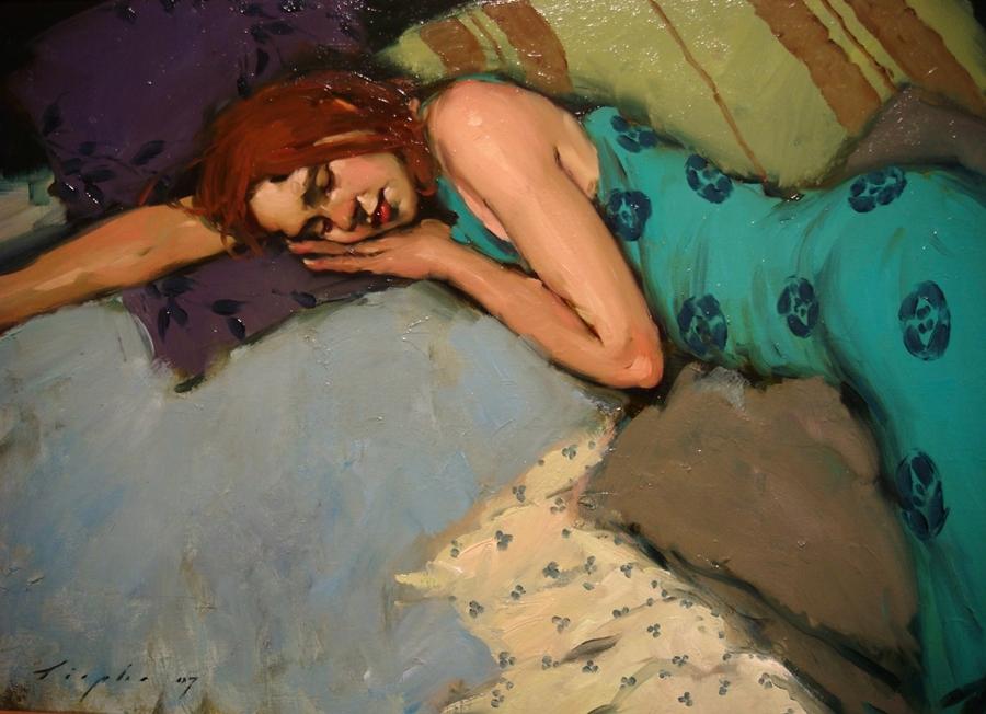 Malcolm Liepke 1953 | pintor figurativo estadounidense