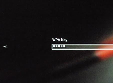 Konsola PS3 - Klucz dla sieci Wi-Fi