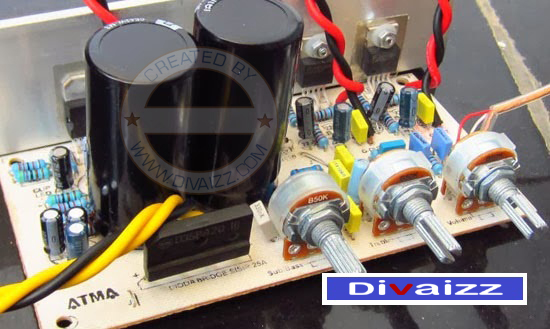 Power Amplifier Kit 2.1 System -TDA7294 www.divaizz.com