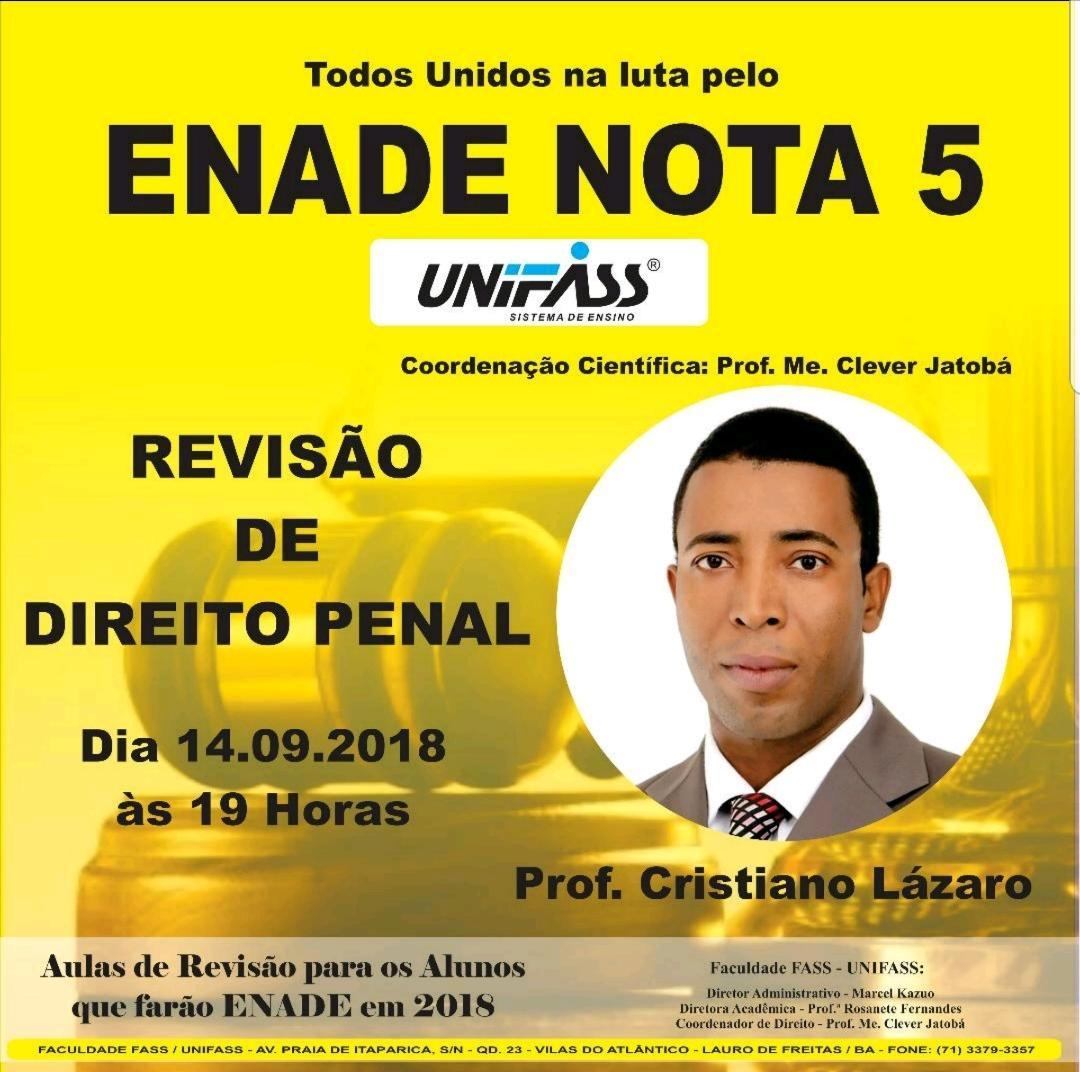 REVISÃO PENAL ENADE 2018