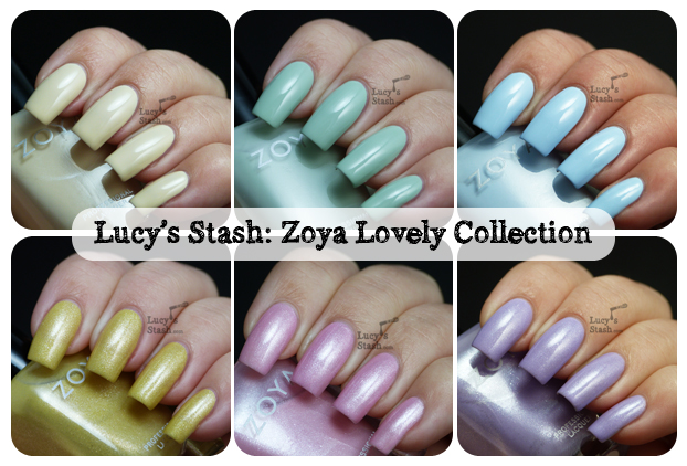 Lucy's Stash - Zoya Lovely Spring 2013 Collection