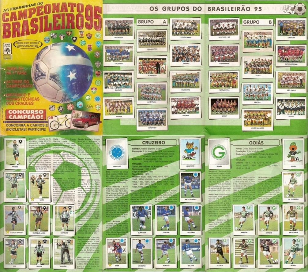 Panini Campeonato Brasileiro: Álbuns Escaneados Digitalizados: 11/07/12