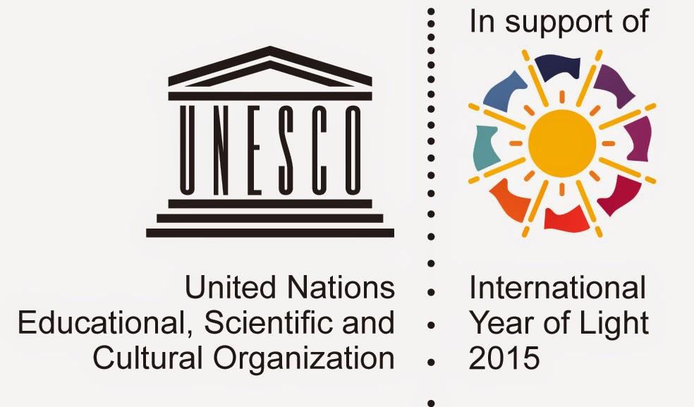 2015 ANO  INTERNACIONAL DA LUZ DAS  NAÇÕES UNIDAS