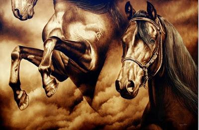 caballo-pintura-surrealista
