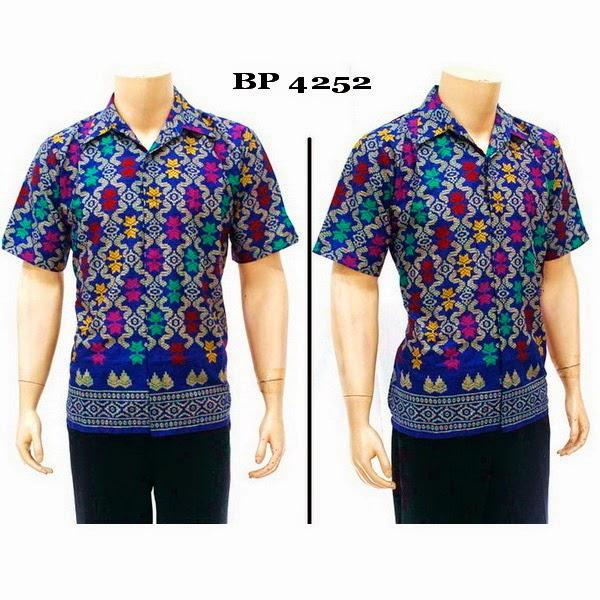 Baju Hem Batik Pria BP4252