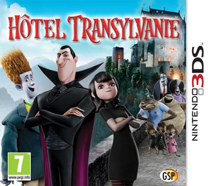 Hotel Transylvania Decrypted 3DS EUR