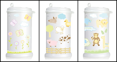 diaper pail decals