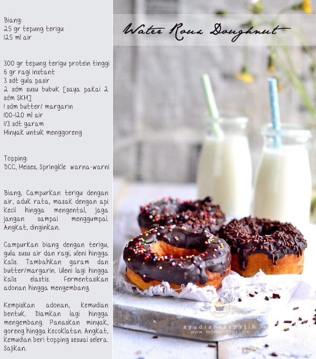 Water Roux Doughnut