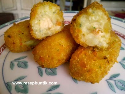 resep cemilan anak yang sehat, Resep Cara Membuat Pom-pom Potato Wortel Enak