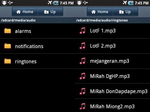 Cara Menambahkan Nada Dering MP3 di Android