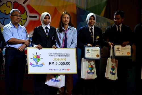 Majlis Liga Remaja Kreatif 2015 Peringkat Zon Utara SMK Syed Saffi Perlis