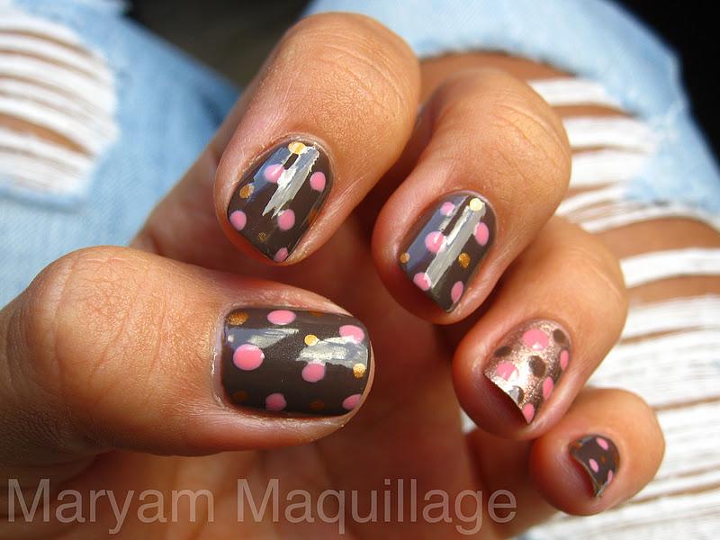 Nail art brown and pink choice image nail art and nail design ideas maryam maquillage pink chocolate bubbly pink chocolate bubbly prinsesfo choice image prinsesfo Images