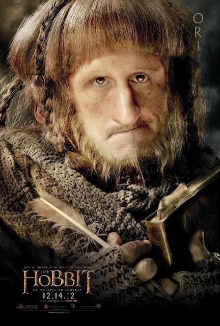 The Hobbit, character poster, ori