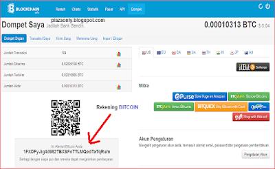 Cara Membuka Wallet/Dompet Bitcoin di Blockchain.info