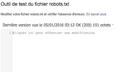 editeur robots.txt