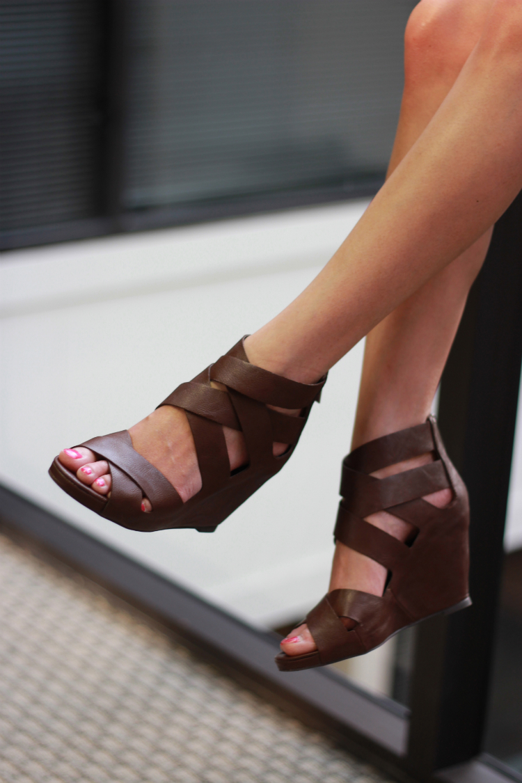 target mossimo wedges brown leather sandals dvf