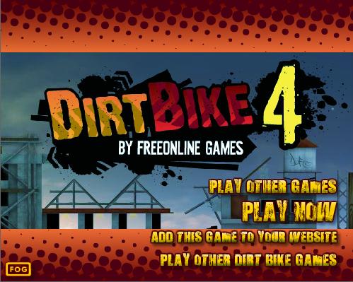 Jogar Online Dirt Bike 4