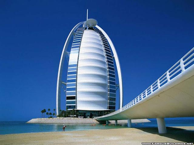 Luxury life design the world 39 s only 7 star hotel burj for Burj dubai hotel room rates