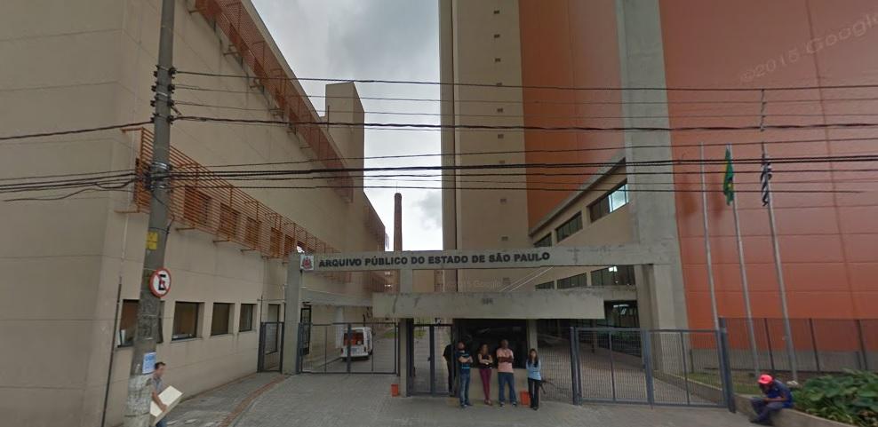 Arquivo Histórico do Estado - São Paulo/SP - Spenco