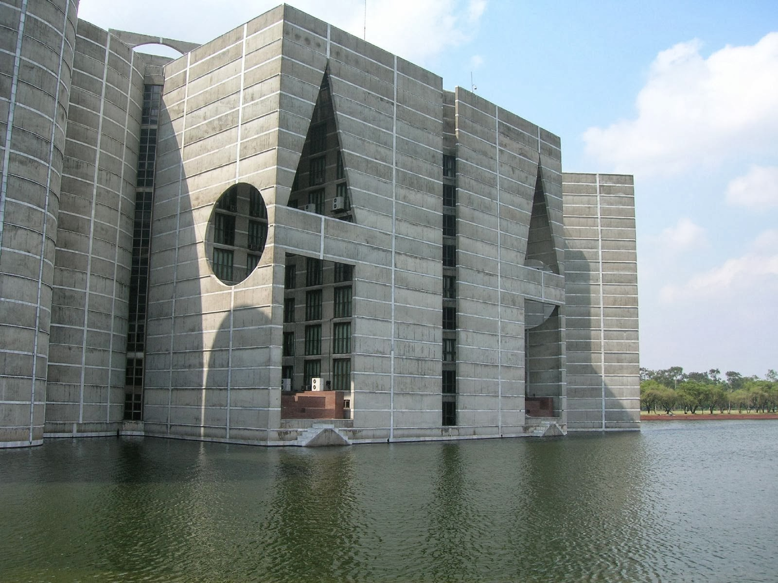 Architecture as aesthetics national assembly building of for Louis kahn buildings