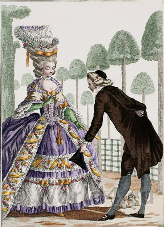 Devilinspired Rococo Clothing The History About Rococo Fashion Style