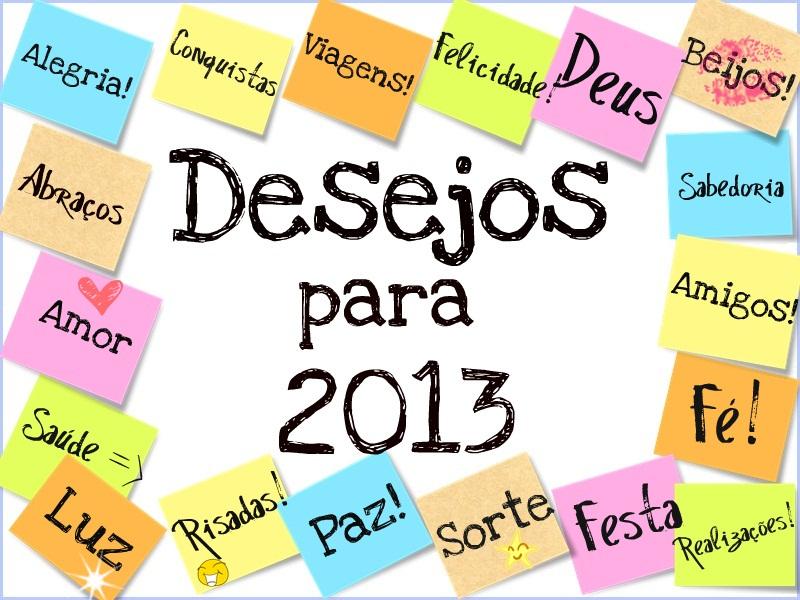 Desejos para 2013